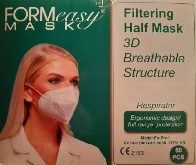 Mund-Nasenmaske der Klasse FFP2 (m.Zertifizierung), 10St.