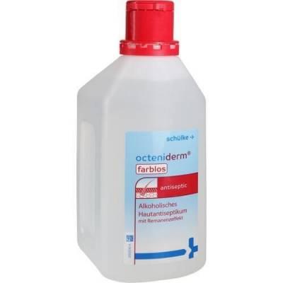 Octeniderm farblos, alkoholische Lösung zur Hautdesinfektion, 1L